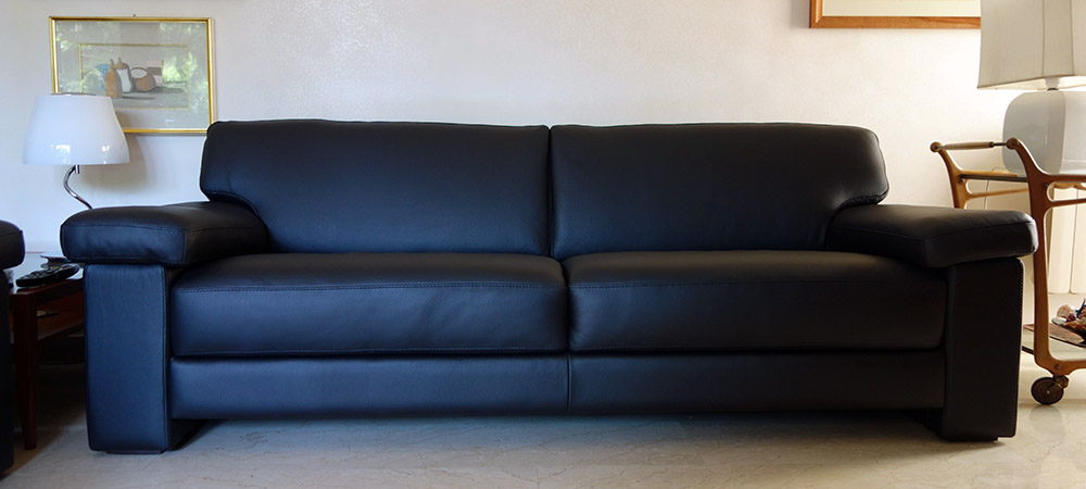 3 Seater Leather sofas