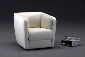 Leather Armchair Asti