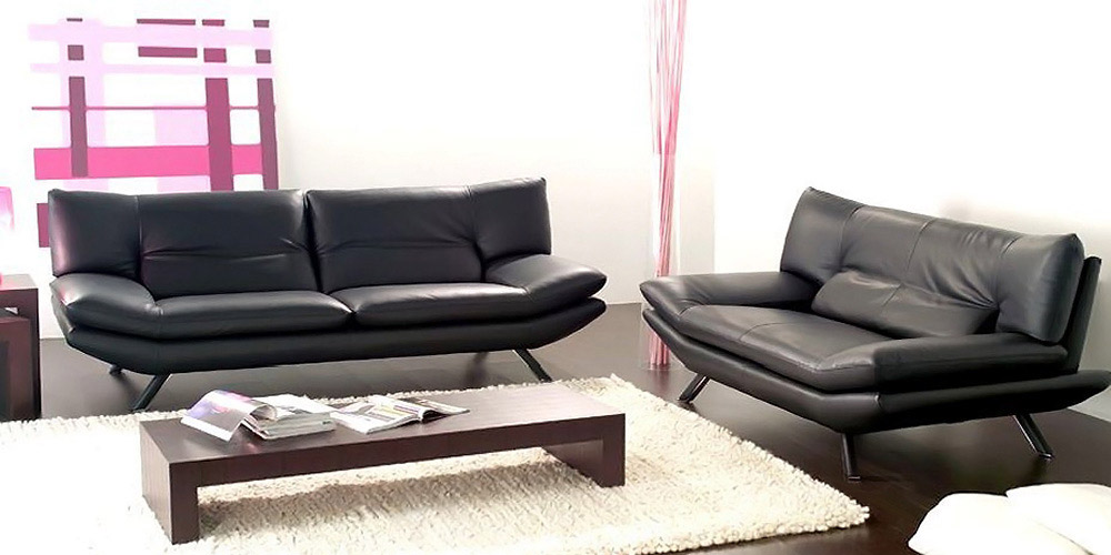 Alaska 2 Seater and 3 Seater Leather Sofas