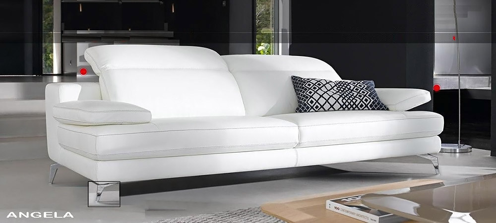Italian leather sofa angela by calia maddalena Italian leather sofa uk