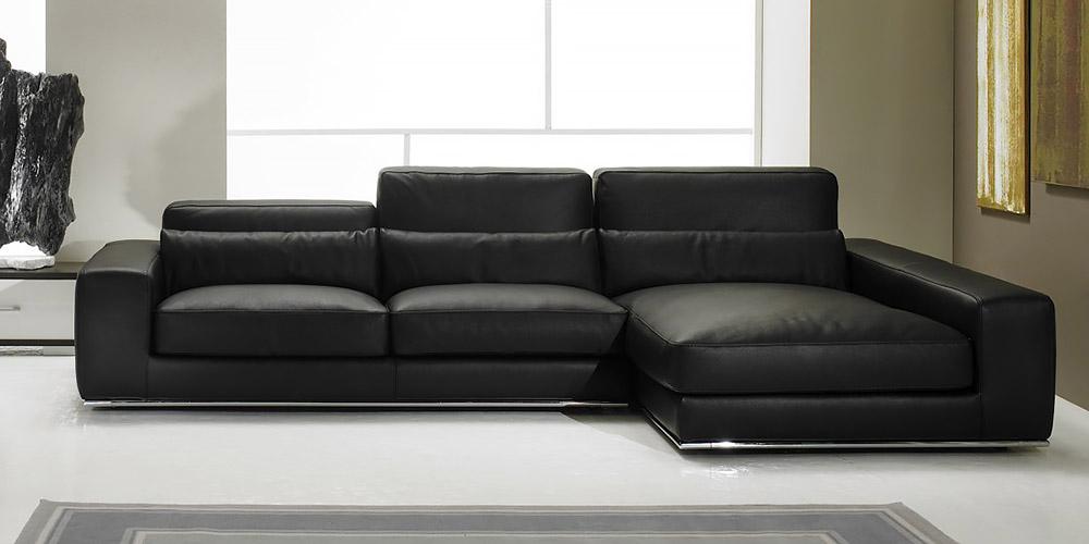 Italian leather sofa aramis by calia maddalena - Canape cuir italien contemporain ...