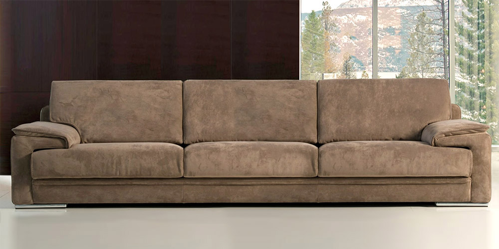Italian Leather Sofa Arca By Calia Maddalena