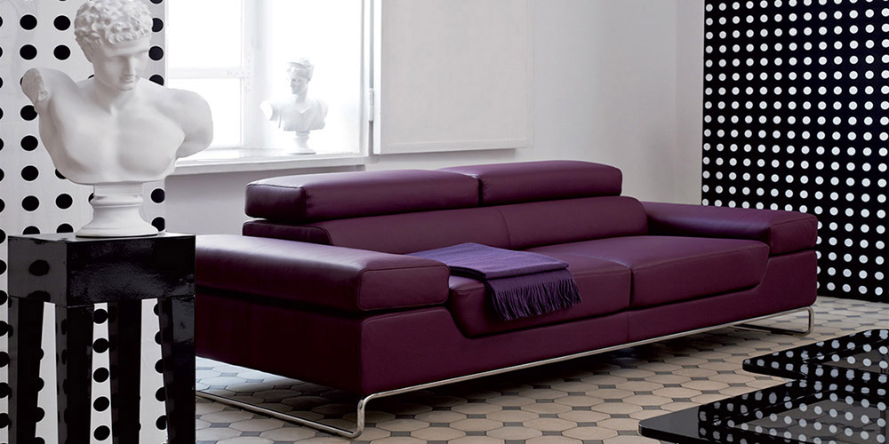 Barmen 3 Seater Leather Sofa