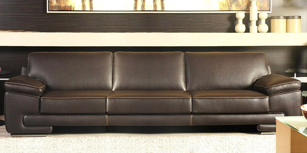 Italian Leather Sofa Bilbao By Calia Maddalena