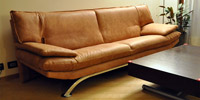 3 Seater Brooklyn of Brown Leather