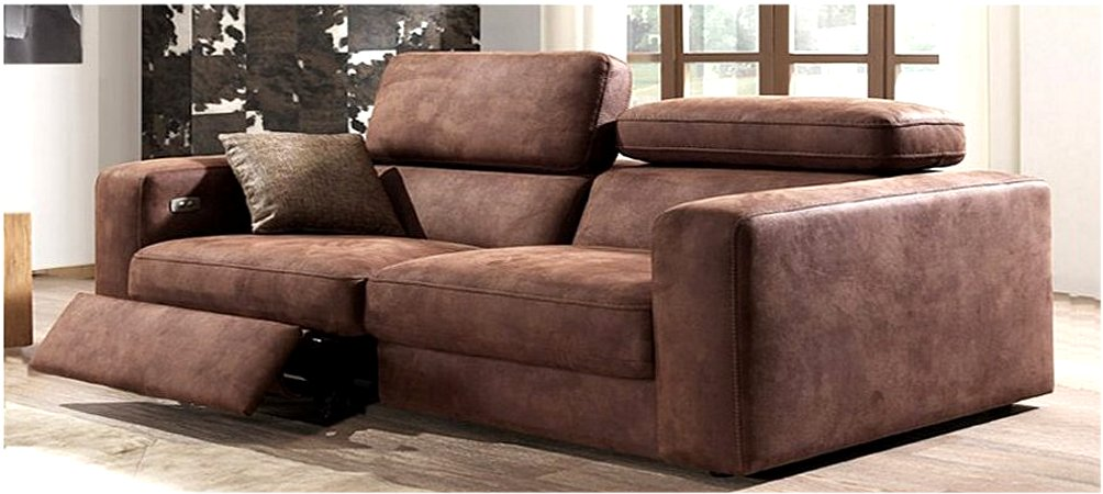 Country Relax 3 Seater Leather Sofa