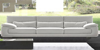 Dolby 4 Seater Leather Sofa