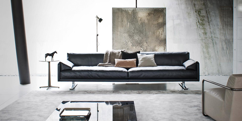Italian Leather Sofa Escort By Calia Maddalena