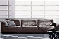 Leather Sofa 4 Seater Formentera