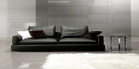 Leather Sofa Hilda