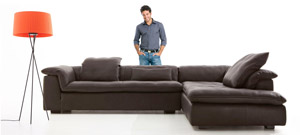History Leather Sofa