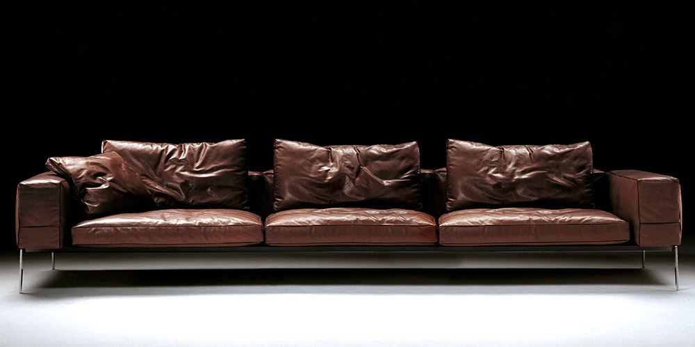 Italian leather sofa houston by calia maddalena Italian leather sofa uk