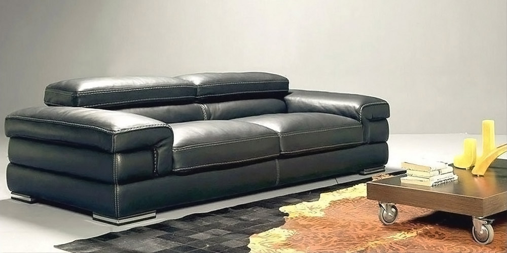 Mobydick 3 Seater Leather Sofa