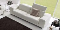 Leather Sofa 3 Seater Musica
