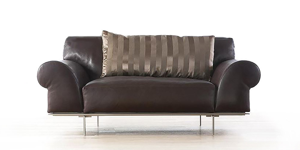 italian leather sofa nelson by calia maddalena. Black Bedroom Furniture Sets. Home Design Ideas