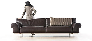 Nelson Leather Sofa