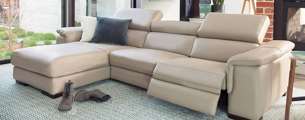 Corner Sofa Oscar with Chaise-Longue
