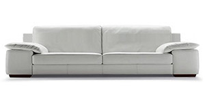 Leather sofas collection by calia maddalena for Sofa quattro