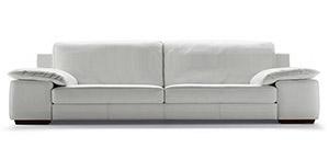 Modern italian leather sofas and furniture calia maddalena for Sofa quattro
