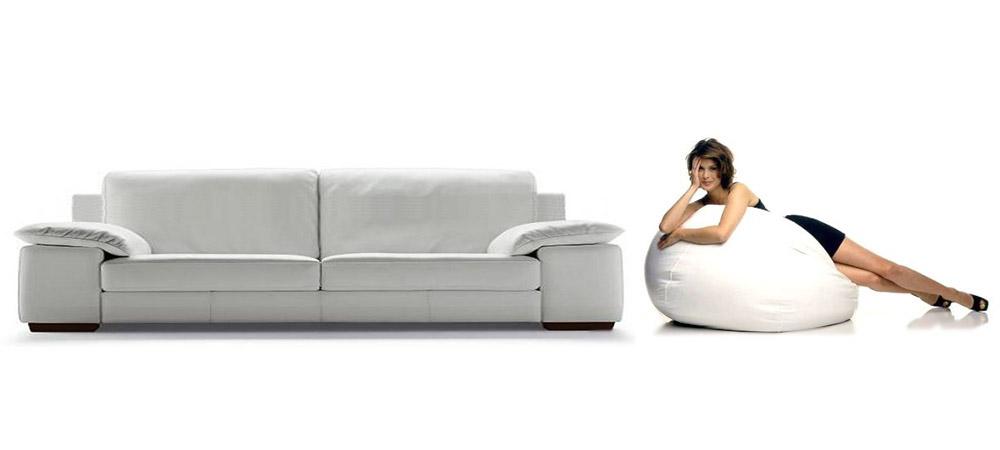Italian leather sofa quattro by calia maddalena for Sofa quattro