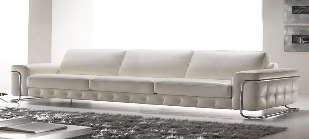 Italian Leather Sofa Stargate By Calia Maddalena