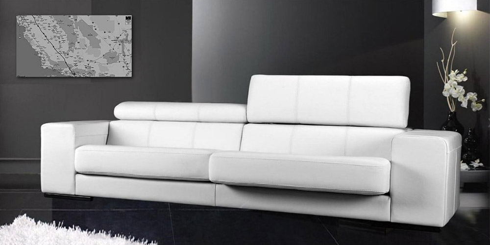 Tim 3 Seater Leather Sofa