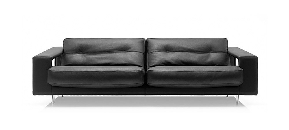 Italian Leather Sofa Voyager By Calia Maddalena