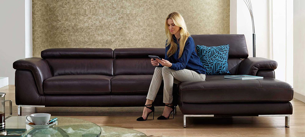 Italian Leather Sofas for Sale | Calia Maddalena