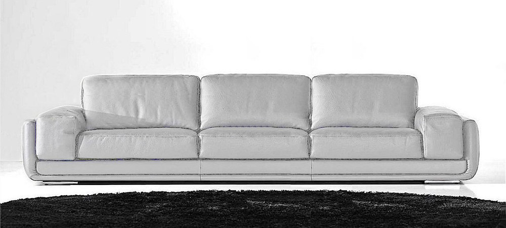 Sofas for sale italian leather discount for Gray sofas for sale